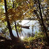 Farum sø, hvor der også er bådudlejning