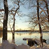 Farum sø, vinter
